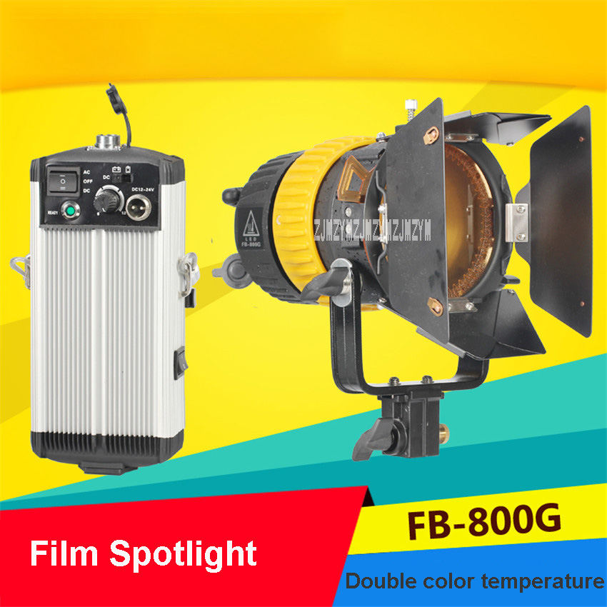 FB 800G пленочный прожектор Портативный высококачественный 5600 K/3200 K 80 W Светодиодный прожектор фотолампа для камеры непрерывная съемка света