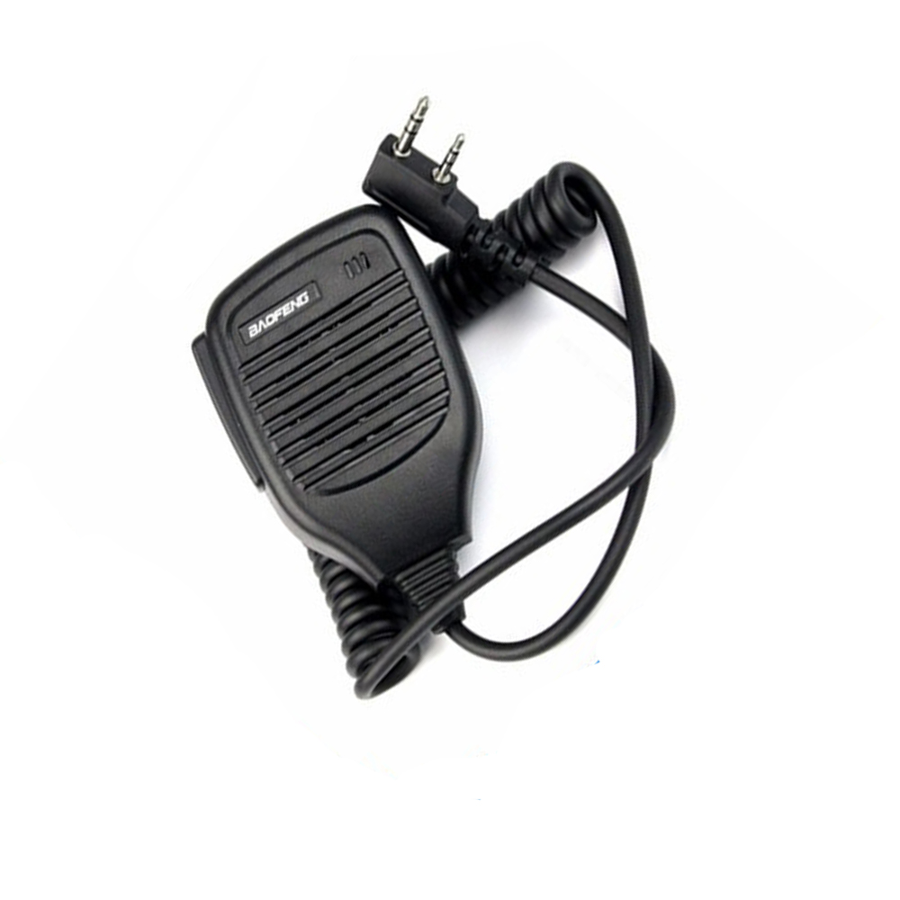 Speaker Baofeng Radio PTT Speaker Mic Handheld Microphone For Kenwood Baofeng UV5R BF-888S UV-82 Portable CB Radio Walkie Talkie
