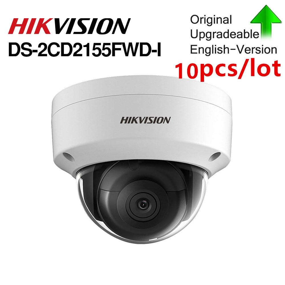 Hikvision DS 2CD2155FWD I 5MP Original Dome ip camera Network CCTV Camera POE IR IP67 IK10