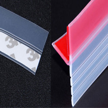 rubber sheet door window bathroom kitchen garage seal with glue 3M/LOT free shipping