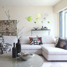 DIY 3D Spiegel Aufkleber Fisch Bubble Wandaufkleber Wohnzimmer Modernes DekorChina