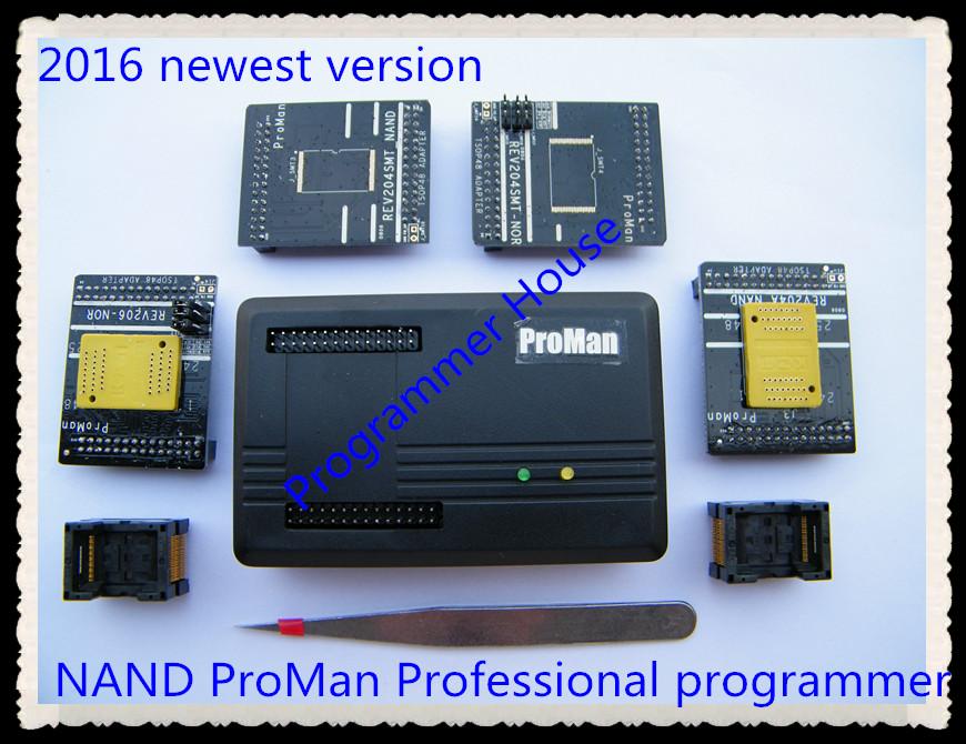 Prix pour 2017 NAND programmeur ProMan Professionnel TSOP48 FLASH programmeur TL866 PLUS programmeur outil de réparation copie NAND FLASH de récupération de données