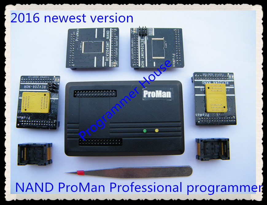 NAND nor ProMan Professional TSOP48 FLASH programmer TL86_PLUS programmer repair tool copy NAND FLASH data recovery new arrival proman programmer nand flash chip for nand nor tsop48 tsop56 bga63 bga64 bga107 bga130 program with related adapters