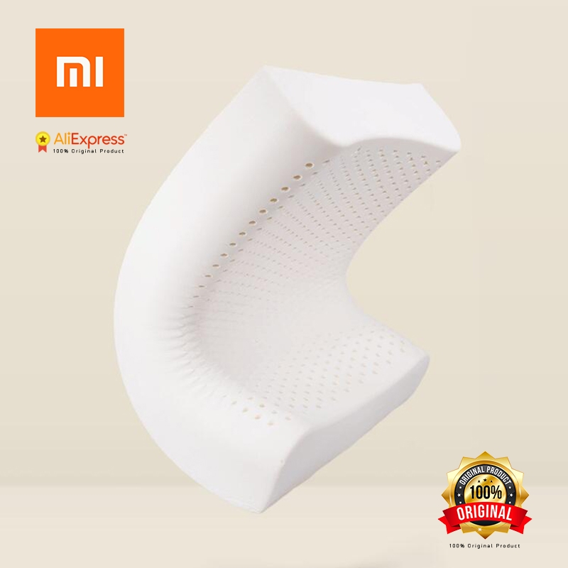 Фотография Xiaomi 8H Pillow Z2 Natural Latex Elastic Soft Pillow Neck Protection Cushion Best Environmentally Safe Material Good Sleep