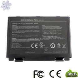 Batterie d'ordinateur portable pour asus A32-F52 A32-F82 F82 K40 K40in K50 K50in k50ij K50ab K42j K51 K60 K61 K70 P81 X5A X5E X70 X8A
