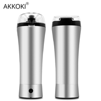 Electric Shaker Bottle New Protein Powder Mixer Sports Water Thermos Training Nutrition Mixer Whey Drink 304 Stainless Steel