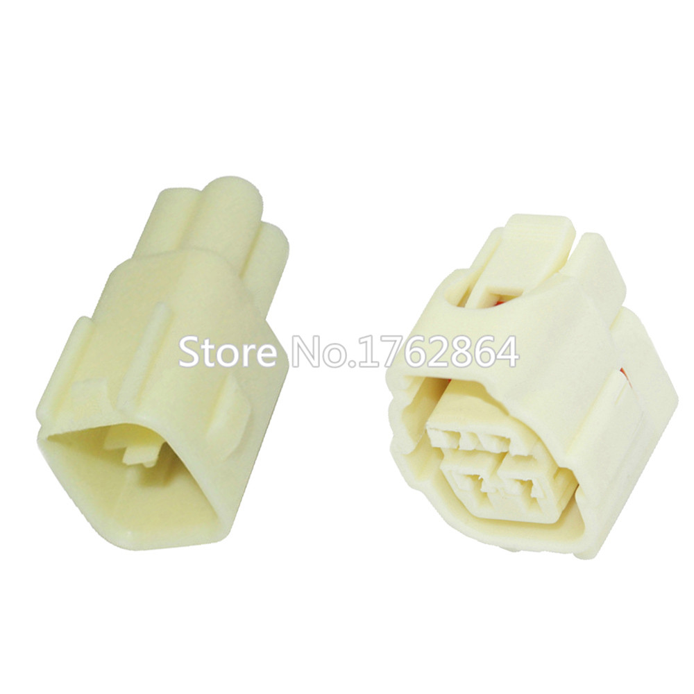 4 pin rear oxygen sensor connector white with terminal DJ7043Y-2.2-11/21 4P