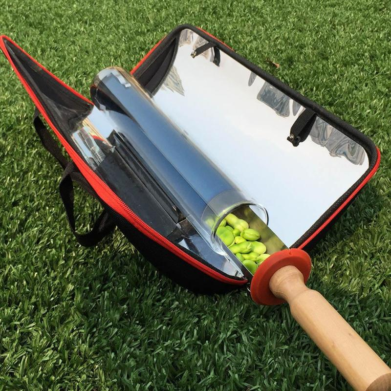 Portable Solar Cooker Panel Oven Outdoor Camping Cooking Tools Hiking Picnic Solar Cooker Stove Fuel Free Oven BBQ Grill Kit NEW green portable solar oven bag cooker sun outdoor camping travel emergency tool for cooking solar oven bag mayitr