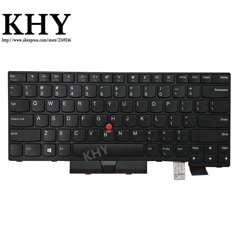 Original US Keyboard For ThinkPad A475 A485 T470 T480 PN 01HX339 01HX379 01HX299 01HX328 01HX368 01HX408 01AX364 01AX405 01AX446-in Replacement Keyboards from Computer & Office on