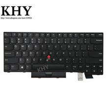 Teclado americano Original para ThinkPad A475 A485 T470 T480 PN 01HX339 01HX379 01HX299 01HX328 01HX368 01HX408 01AX364 01AX405 01AX446