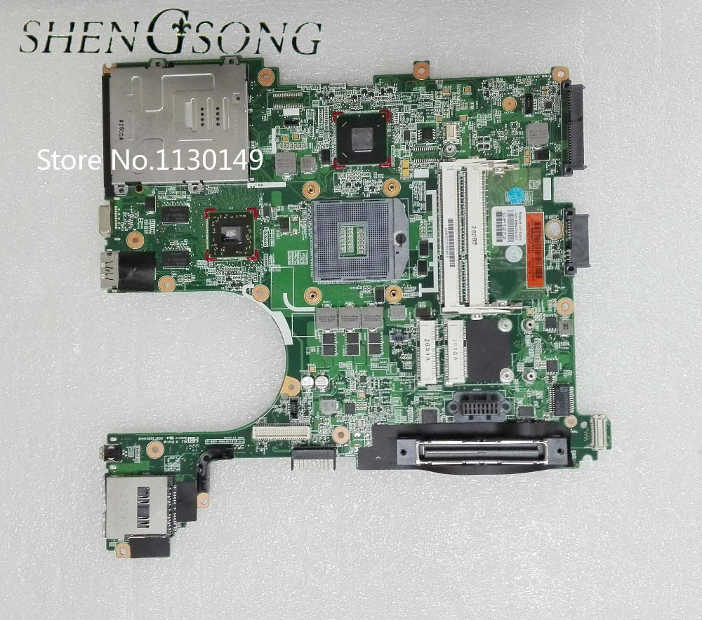 все цены на 684323-001 mainboard Free Shipping for hp 6560B 8560P laptop motherboard QM67 i5 and fully tested in good quality онлайн