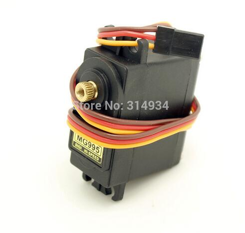 10pcs lot MG995 55g rc Metal gear servo for rc helicopter plane boat tower car RC