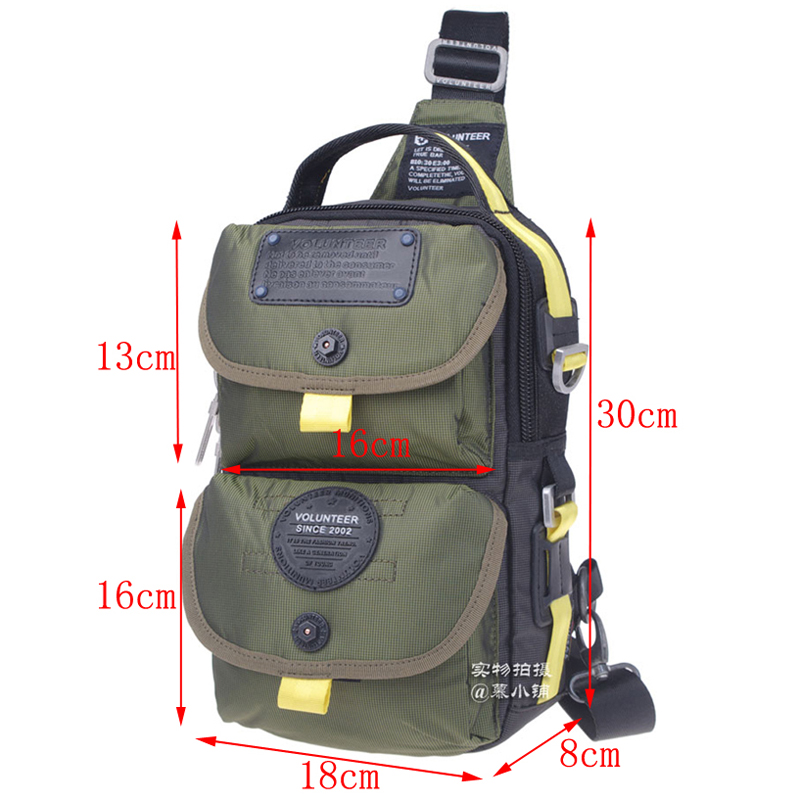 ФОТО Top Quality Oxford New Fashion Men Shoulder Messenger Cross Body Bag Military Designer Brand Famous Chest Day Waterproof Pack