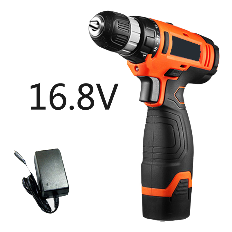 16V Rechargeable Lithium Battery drill electric hammer drill waterproof mini cordless drill screwdriver electric tools