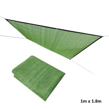 Sun Shade Net 1m x 1.8m Sunshade Cover Flower Green Plant Shade Net Sunscreen Mesh Balcony Garden Gardening Fleshy Free Shipping цена 2017