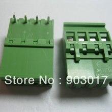 30 шт./партия 5.08A 5,08 мм угол 4-контактный винтовой терминальный блок разъемов вставные Тип, высокое качество, горячая Распродажа