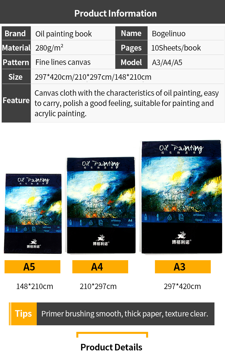 oil painting Professional Oil Painting Book School Students Art Supplies HTB1TDZcRXXXXXahXVXXq6xXFXXXy