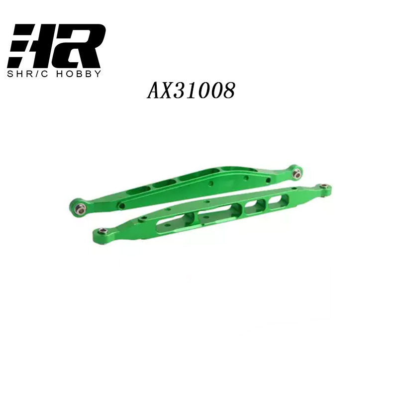 RC car AX31008 Hop-upParts aluminum rear lower chassis linkage link set for axial yeti rock racer AX90026 buggy crawler upgraded image