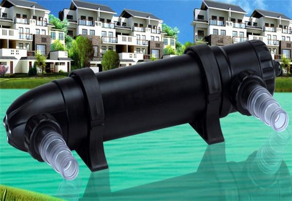 Aquarium lampe germicide UV Aquarium stérilisateur UV stérilisateur lumière stérilisateur Ultraviolet pour poisson récif réservoir de corail Atman