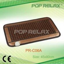 POP RELAX far infrared magnetic negative ion tourmaline heat pad PR-C06A brown 45x80cm FLAT