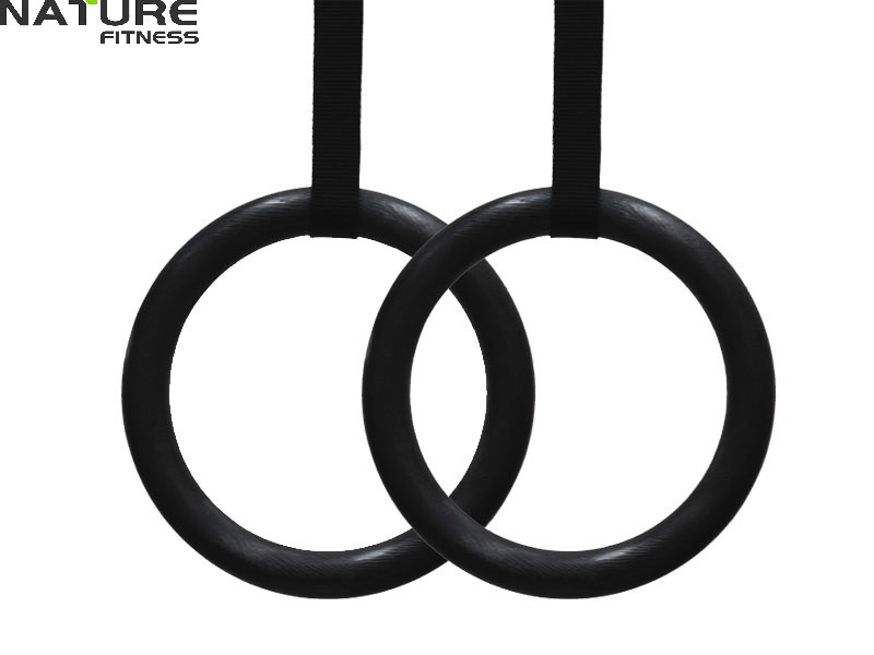 1Pair/Lot Gymnastics Rings Plastic 28mm for Home Fitness and Gym Crossfit for Strength Training Free Shipping