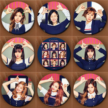 Youpop KPOP TWICE 4th MINI SIGNAL Album Brooch Pin Badge Accessories For Clothes Hat Backpack Decoration Men And Women XZ0642(China)