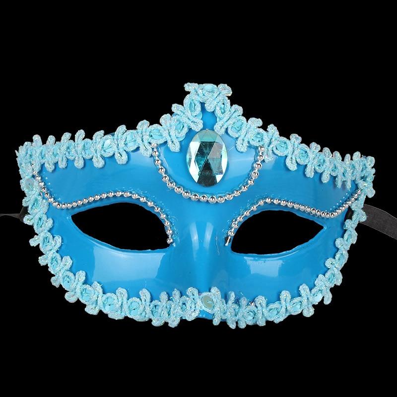3PCS Plating Dance Mask Partei Halloweeni jõulud Pulmakaunistused - Pühad ja peod - Foto 3