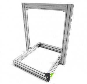 Image 3 - AM8 طابعة ثلاثية الأبعاد النتوء الإطار المعدني مجموعة كاملة ل Anet A8 ترقية الشحن السريع