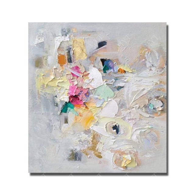 Beautiful Hand Painted Abstract  Oil Painting   Modern Canvas Art  Painting for Home Decoration  Chinese   Wall Art No Framed