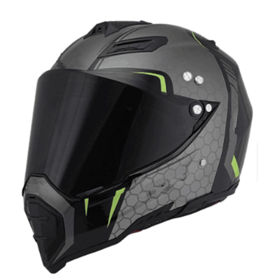 Motocross Helmet Full Face Off Road Dirt Bike Motorcycle ATV Mountain Bike S