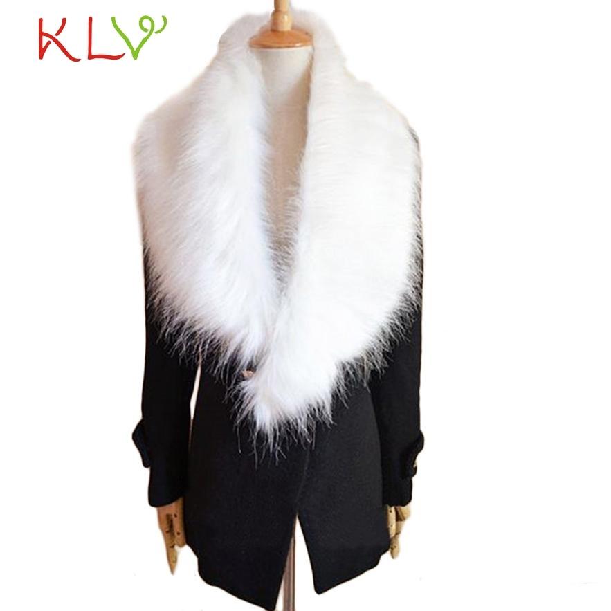 >2017 Top Fashion Solid New Winter <font><b>Scarf</b></font> Women Fox Fur <font><b>Collar</b></font> Rabbit Raccoon Caps <font><b>Article</b></font> Fake Warm <font><b>Scarves</b></font> Shawls !5