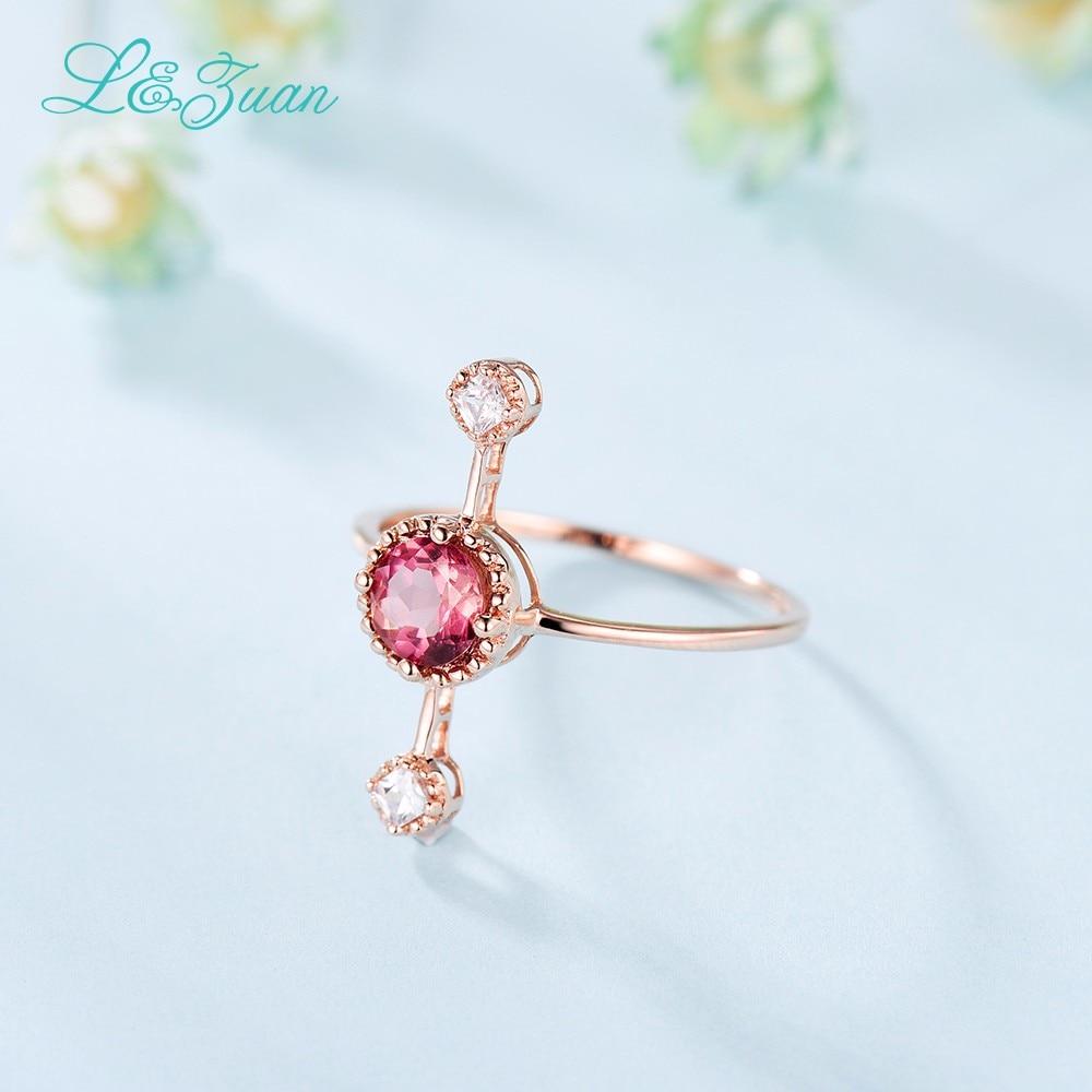 L & Zuan Diamond Бижута 14K Розово злато - Изящни бижута - Снимка 6