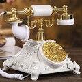 Поворотные пластины античный телефон старинные телефон мода домашний телефон