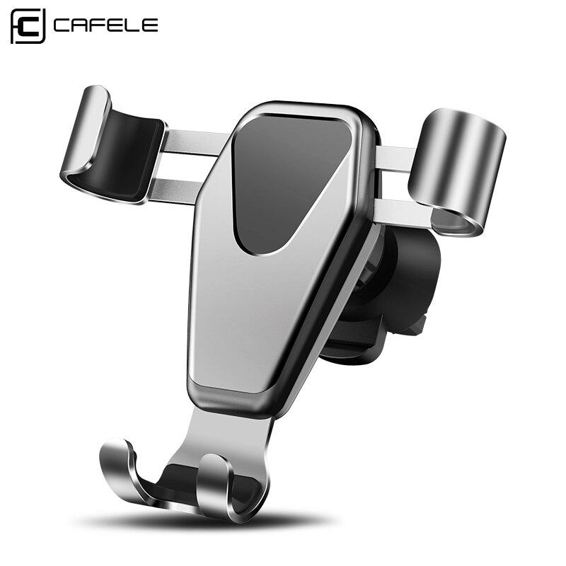 Cafele Phone Holder in Car Mount Phone Holder for iPhone Xiaomi Huawei Samsung Smartphone Car Holder Gravity Sensor