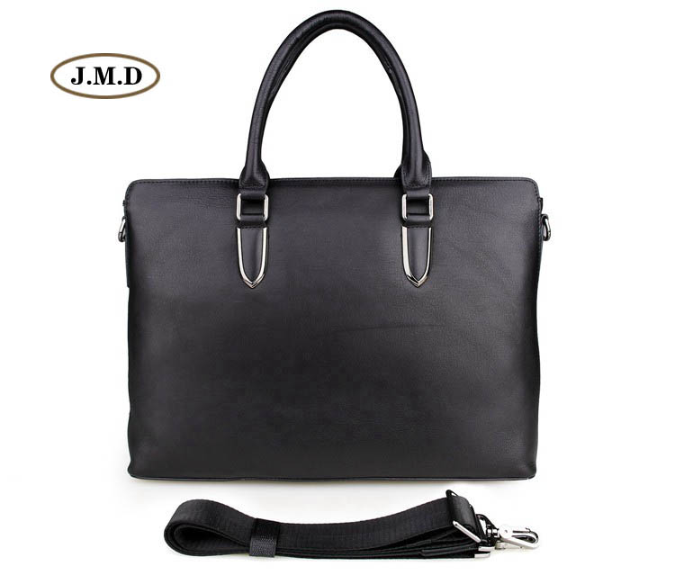 J.M.D Genuine Cow Leather Business Men Messenger Bag Fashion Shoulder Bag Briefcase Handbag Fit for 13 inches laptop Bag 7274A