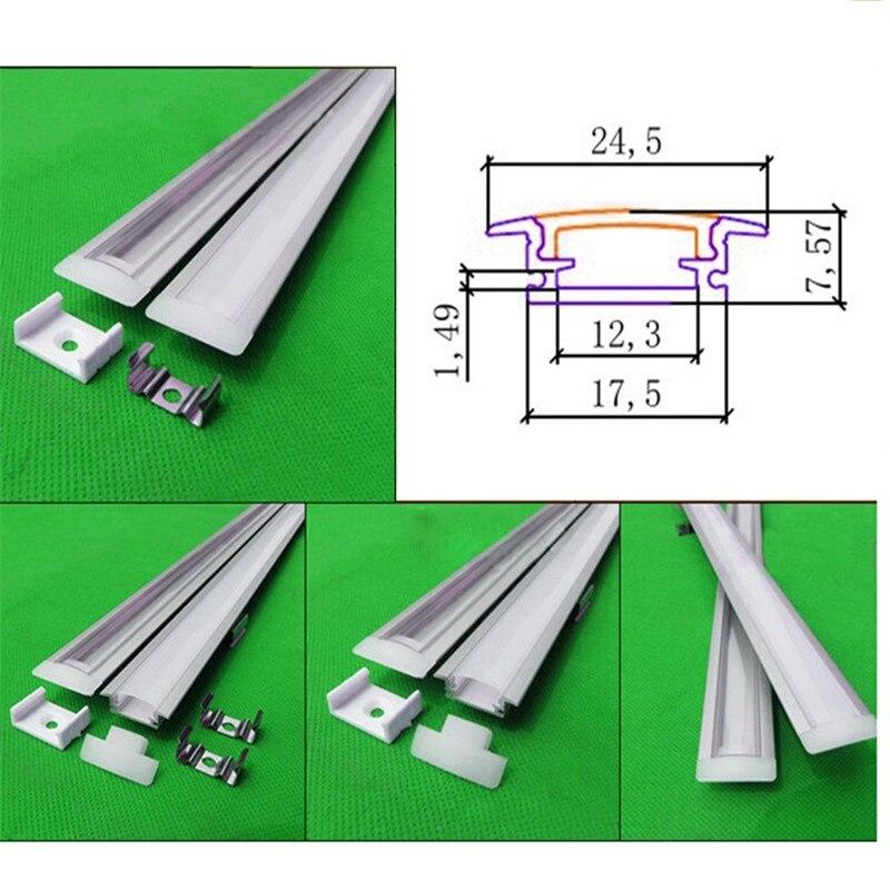 perfil de aluminio levou perfil ou m lot 6000 03
