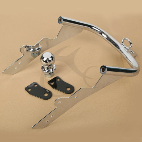 Frames & Fittings Chrome Trailer Hitch For 1995-2006 Harley Hd Flhtcui Electra Glide Ultra Classic