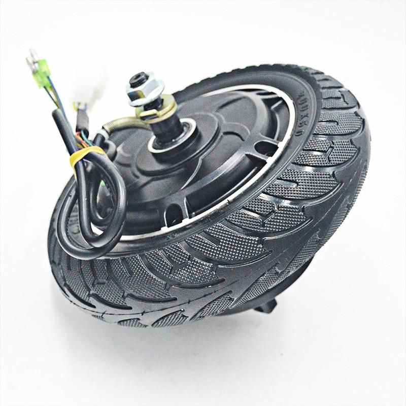 Electric Scooter Hub Wheel Motor 24V 36V 48V DC Brushless Wheel Motor fit 8inch E Scooter Wheel Bicycle Motor Wheel LM