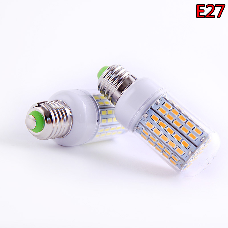 SMD 5730 E27 E14 IC Smart LED Lamp 220V 230V 240V Energy Saving LED Lights Corn Led Bulb Christmas Chandelier For Home Lighting