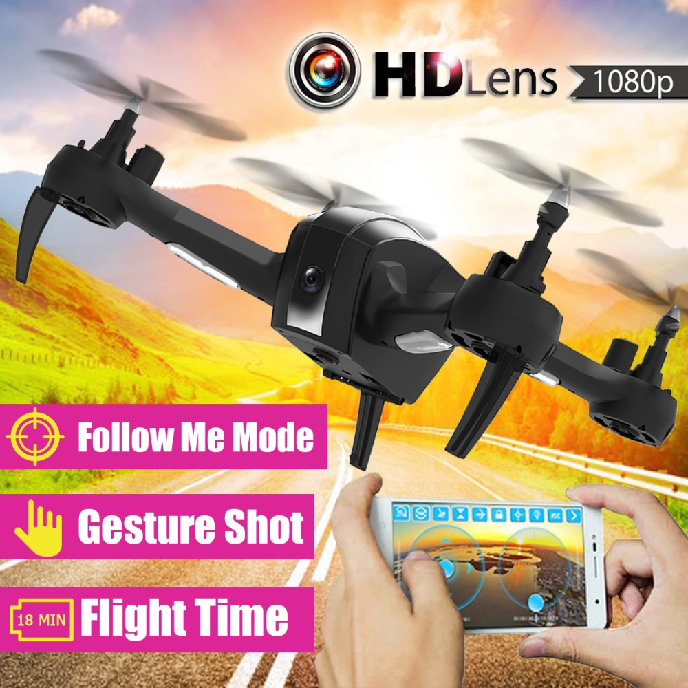 Mini RC Drones with hd Camera RC Helicopter Drone FPV Quadcopter Aircraft Selfie Gesture Auto Taking Smart Follow Drone ботинки gant gant ga121awwvy26