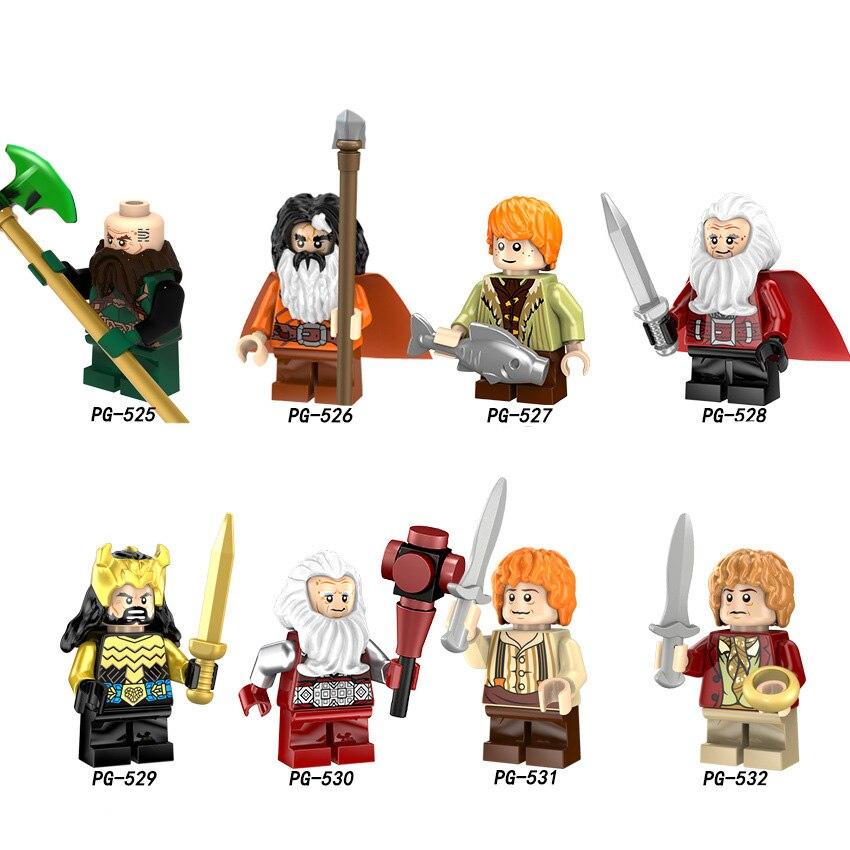 Legoings Pingo bricks Pingo Blocks Potter Dragon Ball Hobbit Assassin 39 s Creed Bilbo in Action amp Toy Figures from Toys amp Hobbies