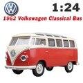 Nuevo 1:24 Aleación Diecast Model Toy Car Bus Minibus MiniVan Como Colección de Regalos Para Niños Del Muchacho Envío Gratis