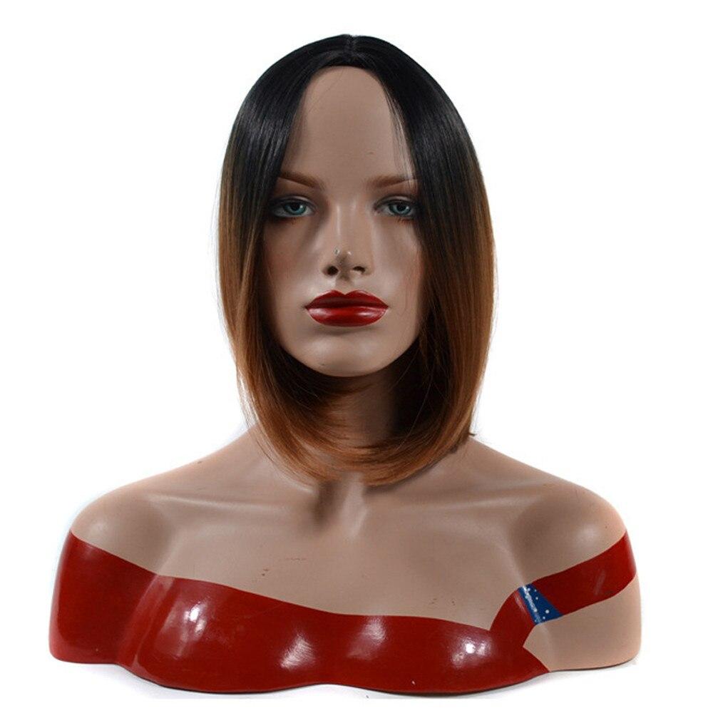 3color short human hair wigs bob wigs front lace wigs synthetic hair wigs front lace gray 52223A
