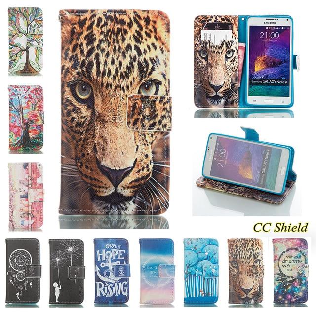 For Samsung Galaxy Note4 Note 4 N910C N910U N910F N910V N910T case Phone Leather Cover for SM-N910U SM-N910F SM-N910V SM-N910T