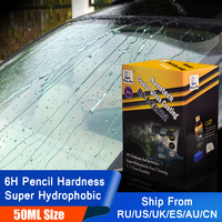 Rising Star RS A CCZ02 Rain & Water Repellent Nano Hydrophobic Liquid Glass Coating for Window 50ml Kit for Professionals
