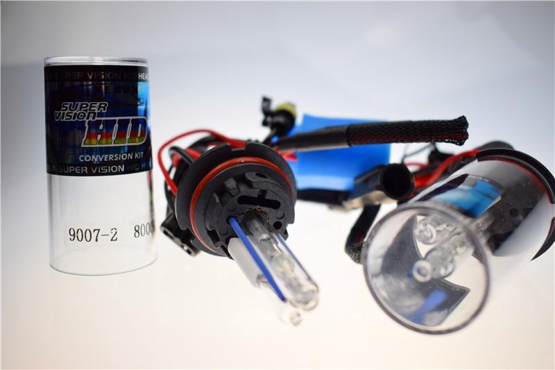 H4 H13 9004 9007 Bixenon Bulb HB5 HID High Low Beam 35W 4300K 6000K 8000K 12000K Light Kit Fog In Car Headlight BulbsLED