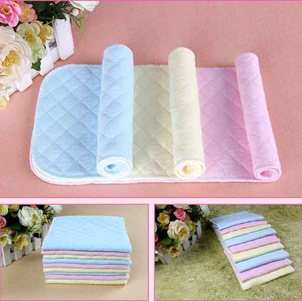 Peradix Diaper Nappy 3 Layer Cotton Infant Mother Supplies Baby Care Newborn ...