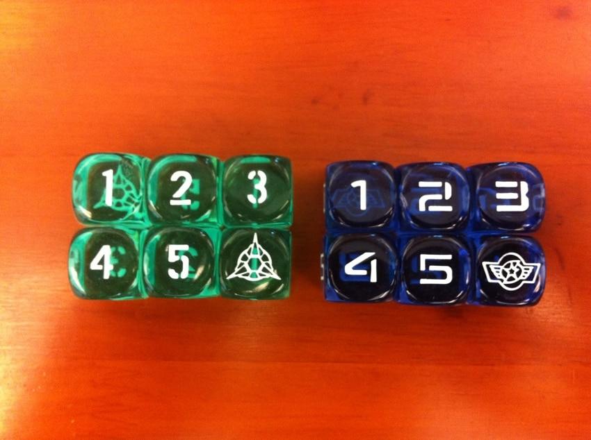 """La pantalla del juego de dados de D6 de Dragones y Dragones D6 de 6 esquinas, número 16MM, """"literalmente en LOGO"""""""