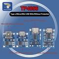 10 шт., Micro USB Type-c, 5 В, TP4056, TC4056, 1A, 18650, с зарядным устройством, литиевая батарея, зарядная плата для Arduino, комплект для творчества