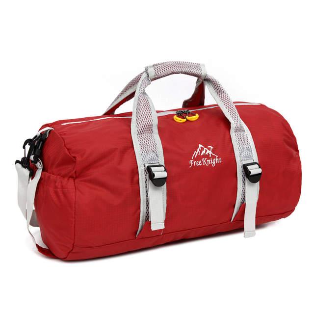 b77b77da58 20 L Outdoor Sports Bag Foldable Shoulder Sport Bags Single Strap  Waterproof Round Shape Fitness Leisure